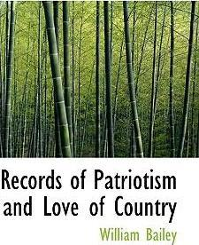 Records of Patriotism and Love of Country