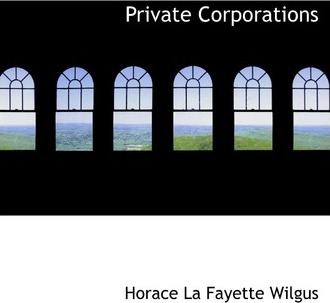 Private Corporations