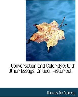 Conversation and Coleridge