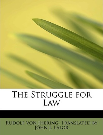 The Struggle for Law