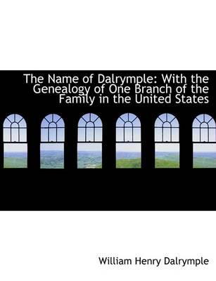 The Name of Dalrymple