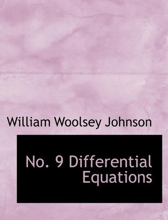 No. 9 Differential Equations