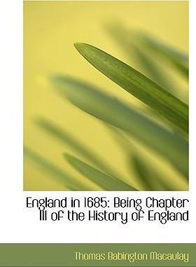 England in 1685