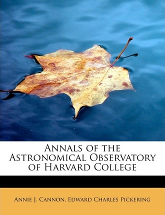 Annals of the Astronomical Observatory of Harvard College