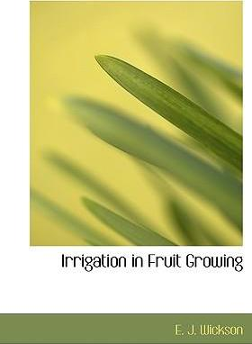 Irrigation in Fruit Growing