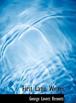 First Latin Writer