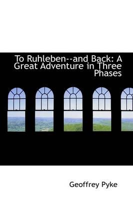 To Ruhleben and Back