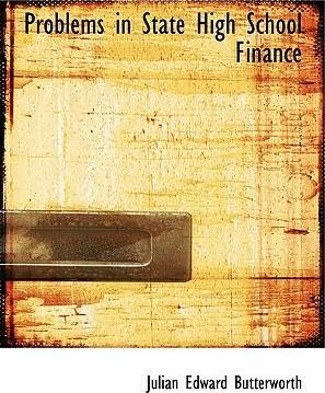 Problems in State High School Finance