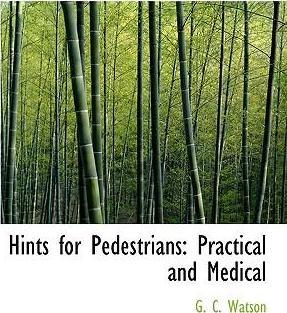 Hints for Pedestrians