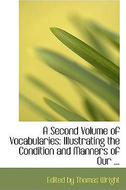 A Second Volume of Vocabularies