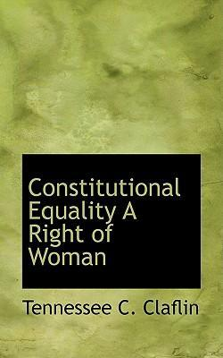 Constitutional Equality a Right of Woman