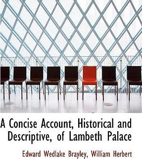 A Concise Account, Historical and Descriptive, of Lambeth Palace