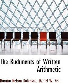 The Rudiments of Written Arithmetic