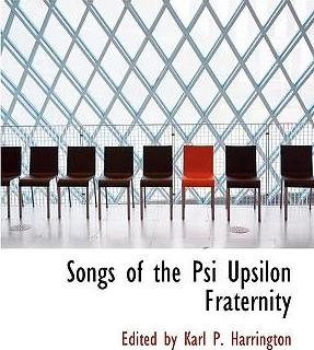 Songs of the Psi Upsilon Fraternity