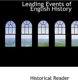 Leading Events of English History
