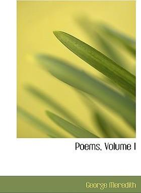 Poems, Volume I
