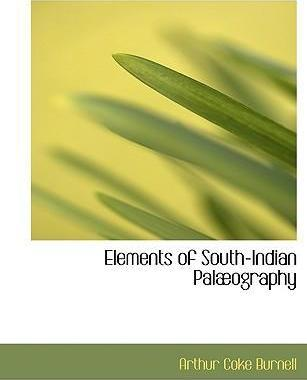 Elements of South-Indian Palabography