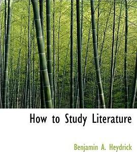 How to Study Literature