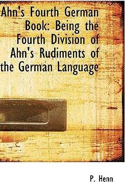 Ahn's Fourth German Book