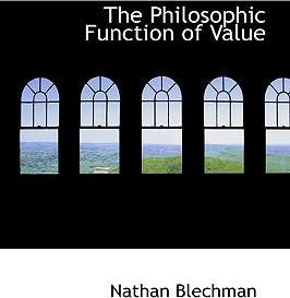 The Philosophic Function of Value