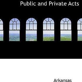 Public and Private Acts