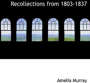 Recollections from 1803-1837
