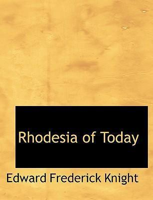 Rhodesia of Today