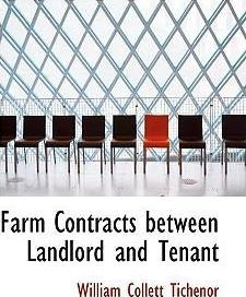Farm Contracts Between Landlord and Tenant