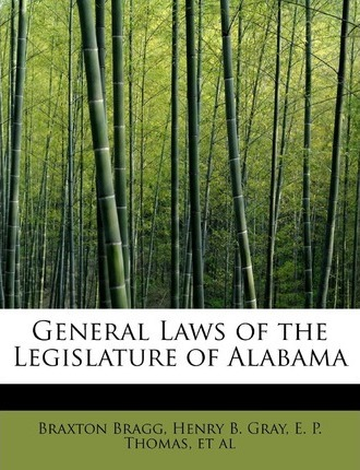 General Laws of the Legislature of Alabama