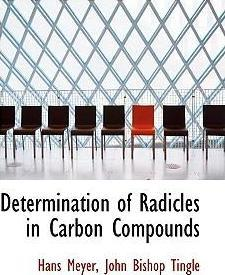 Determination of Radicles in Carbon Compounds