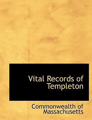 Vital Records of Templeton