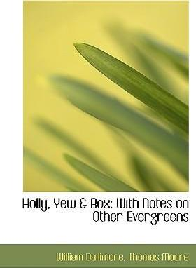 Holly, Yew a Box