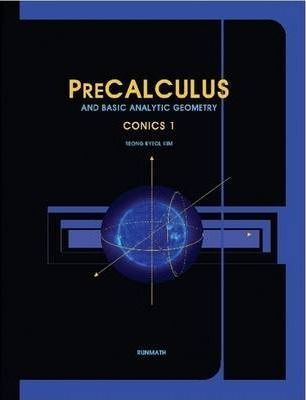 Precalculus and Basic Analytic Geometry Conics 1