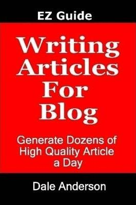 Writing Articles For Blog