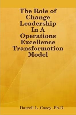 The Role of Change Leadership