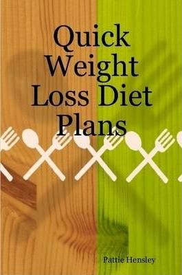 Quick Weight Loss Diet Plans