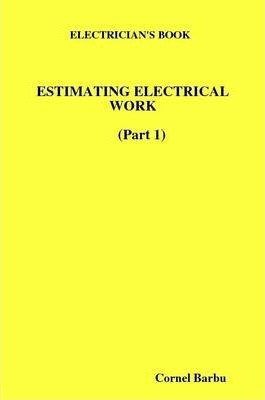 Electrician's Book Estimating Electrical Work