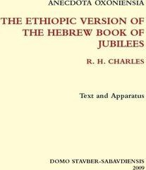 Ethiopic Version of the Hebrew Book of Jubilees