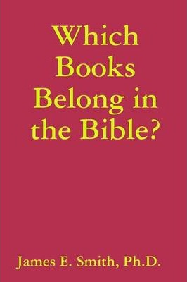 Which Books Belong in the Bible?