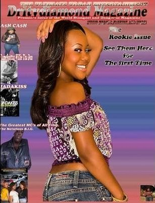Ashley DrityDiamond Mag Cover
