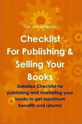 Checklist For Publishing & Selling Your Books
