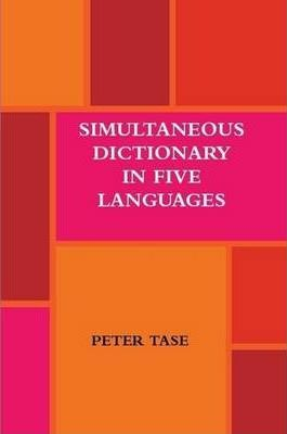 Simultaneous Dictionary in Five Languages