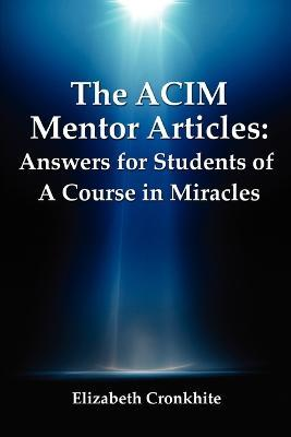The Acim Mentor Articles