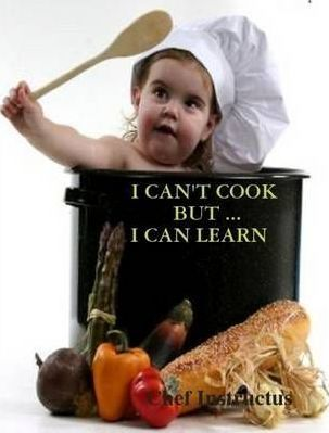 I Can'T Cook, But ... I Can Learn