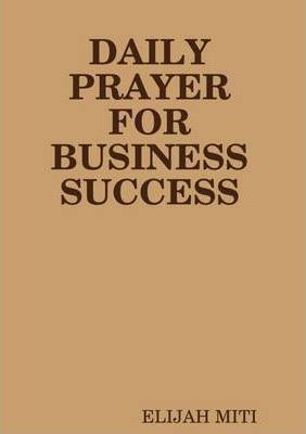 Daily Prayer for Business Success
