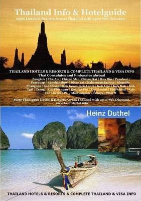 THAILANDS 2500 HOTELS, RESORTS (75% Discount) - AND VISA TOURIST GUIDE