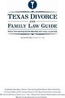 Texas Divorce and Family Law Guide