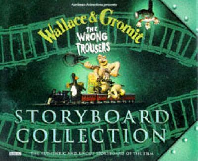 Wallace and Gromit Storyboard Collection  The Wrong Trousers