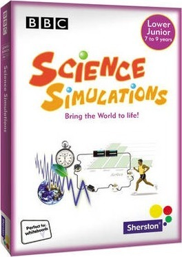 Science Simulations CDROM Years 3/4 Unlimited user Licence