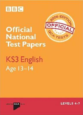 NATIONAL TEST PAPERS KS3 ENGLISH 2006 (QCA)